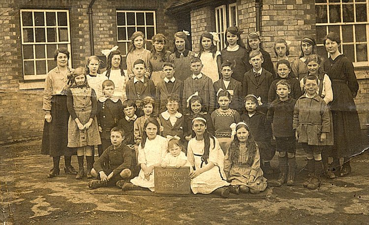 Cheddington School 1921