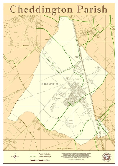 Cheddington Rights of Way