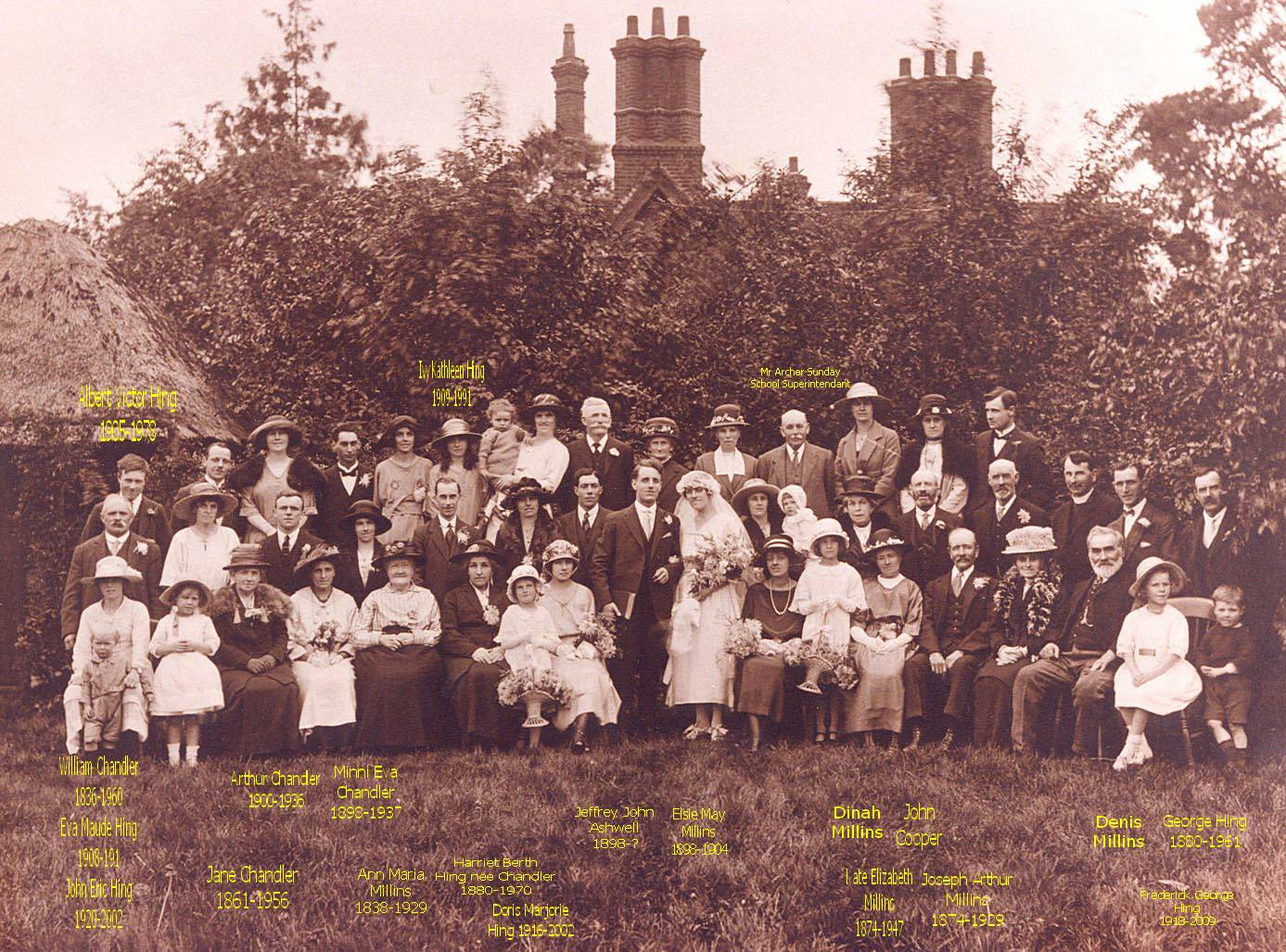 1922 Wedding