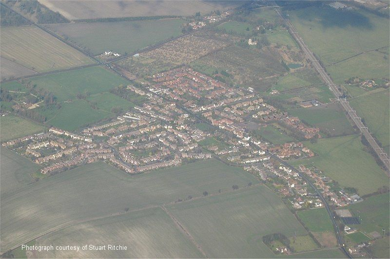 Aerial Photo of Cheddington